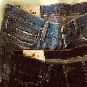 bundle of 2 hollister 30x30 jeans!